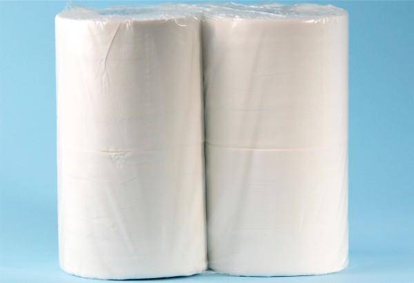 Toilettenpapier Zellstoff, 3-lagig,