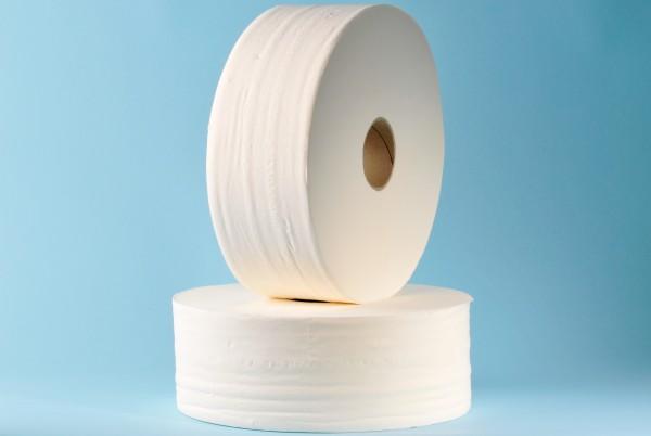 "Toilettenpapier "" Mini Jumborollen"" Zellstoff, 2-lagig"