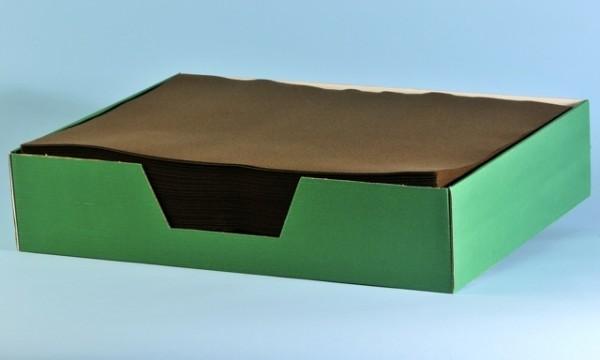 Tischset Airlaid braun