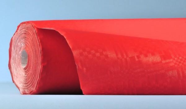 Bulky Soft Tischtuchrollen Kraft / Damast rot