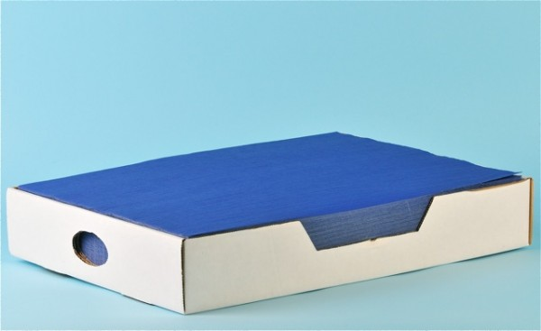 Tischset «Prima» blau, Recycling, 1-lagig