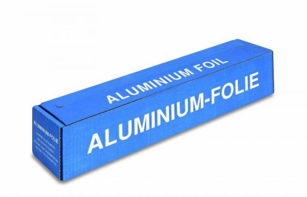 Aluminium-Folie, 18 my, mit Spenderbox und Cutter