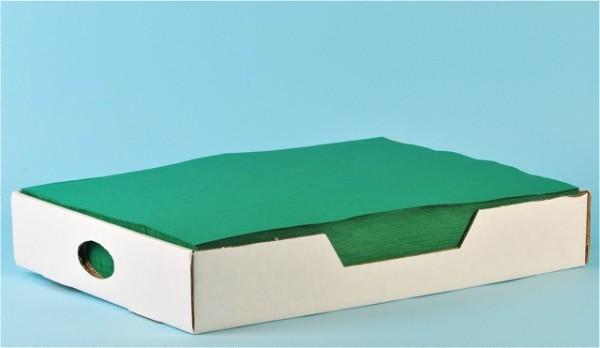 Tischset «Prima» tannengrün, Recycling, 1-lagig