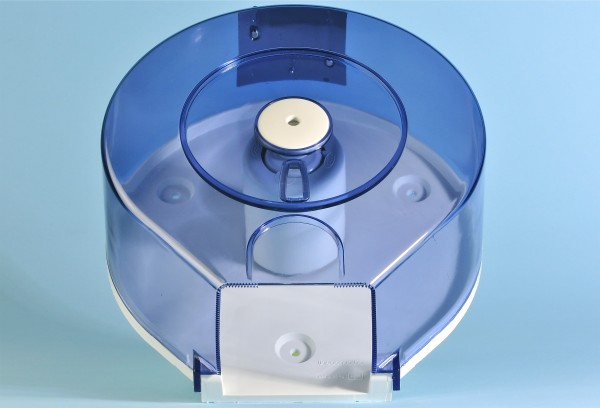 Mini Jumbo - Rollenhalter weiss / transparent