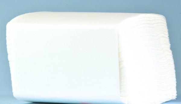 Servietten Bulky Soft Table Top System One Plus weiss, Zellstoff, 2-lagig, 1/2 Falz