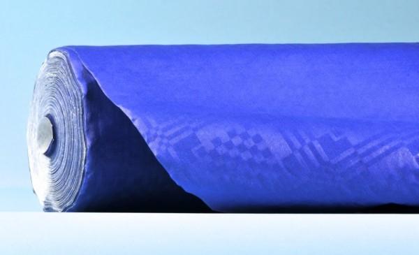 Bulky Soft Tischtuchrollen Kraft / Damast blau
