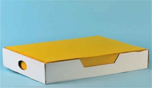 Tischset «Prima» gelb, Recycling, 1-lagig