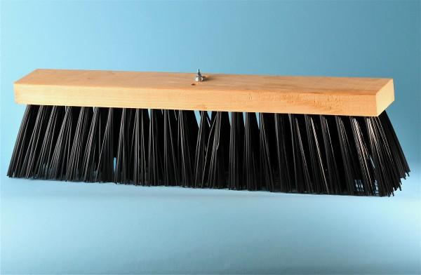 Strassenbesen Kunststoff für grossen Stielhalter, schwarz, 40 cm