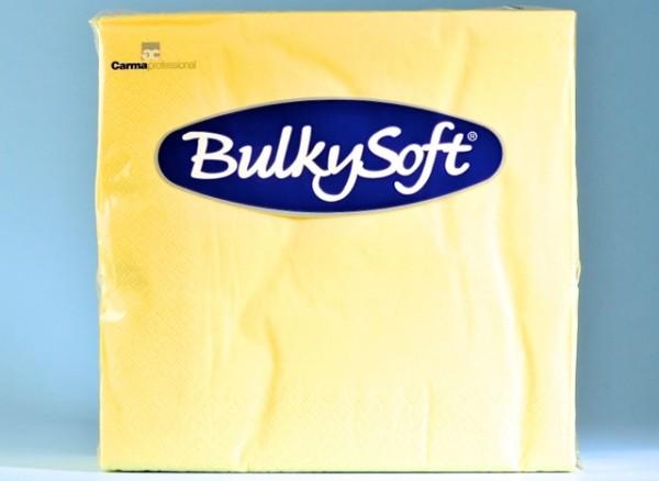 Servietten Bulky Soft Table Top champagner, Zellstoff, 2-lagig, 1/4 Falz