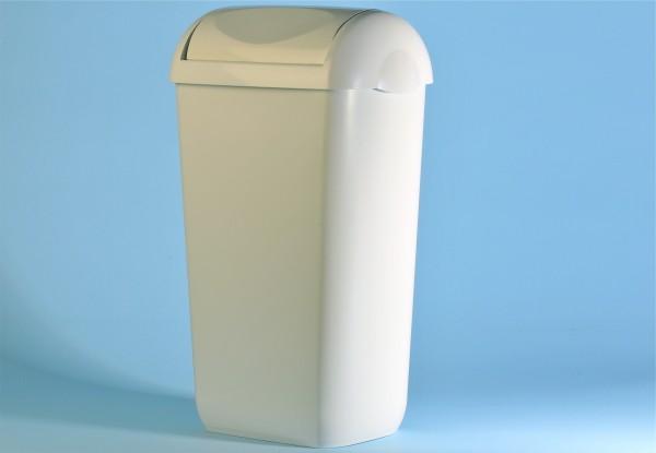 Abfallkorb 23 Liter, weiss