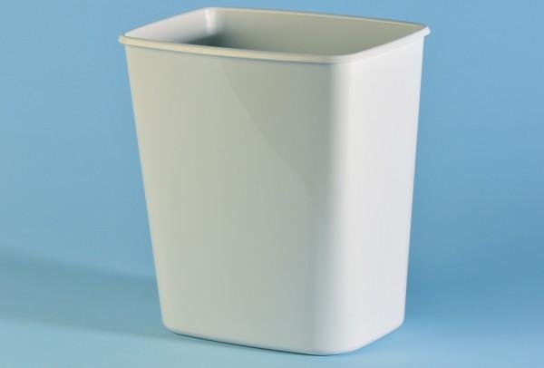 Abfallkorb 8 Liter, weiss