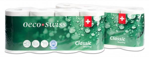 Toilettenpapier Oeco Swiss, Recycling, 2-lagig