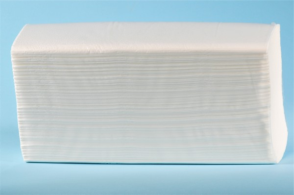 Papierhandtücher (ZZ- Premium) Z-Falz, Zellstoff