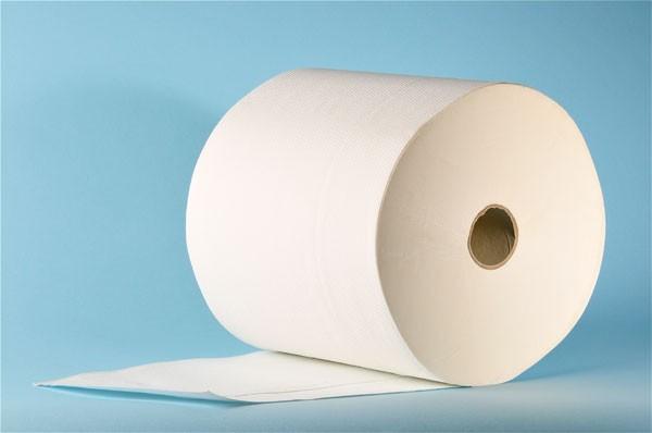 Papierhandtuchrolle «Prima» Zellstoff, 3-lagig